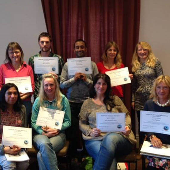 EFT Course students